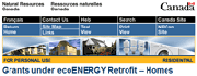 Get up to $5000 ecoENERGY retrofit grant.